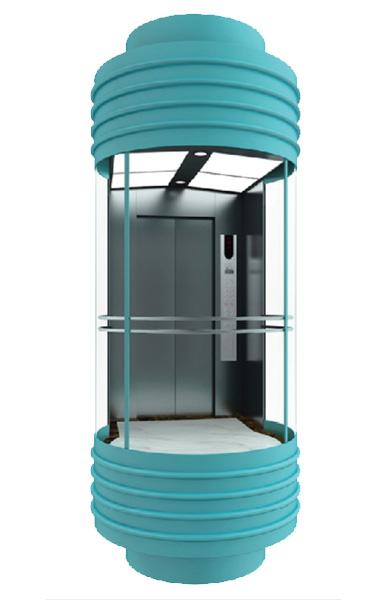 WBJX-G-03 سيارة مصعد بانورامي