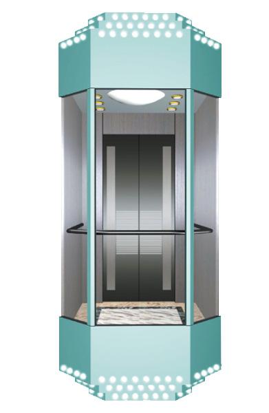 WBJX-G-04 سيارة مصعد بانورامي