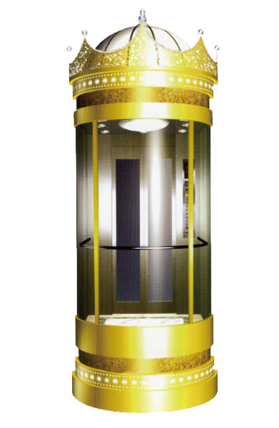 WBJX-G-08 سيارة مصعد بانورامية