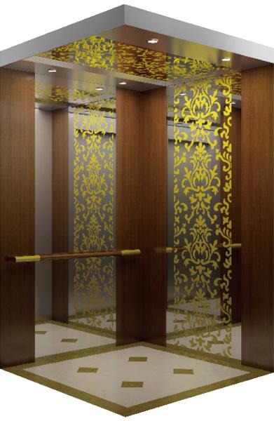 WBJX-K-07 سيارة مصعد الفندق