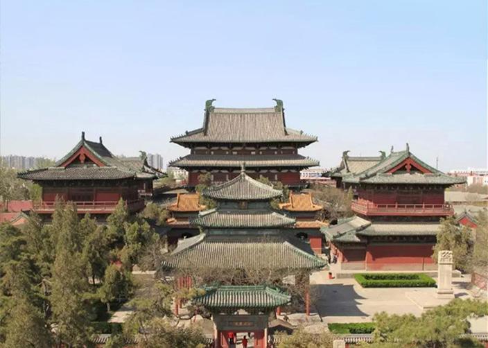 معبد تشنغدينغ لونغشينغ